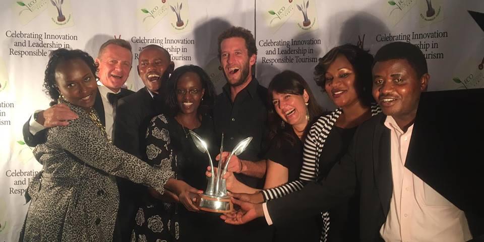 Ol Pejeta team at the Eco Warrior Awards