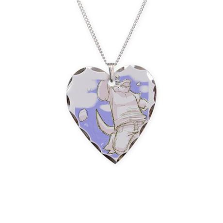 Zero gravity Necklace Heart Charm