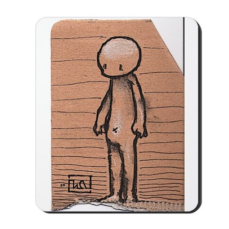 Standing guy Mousepad