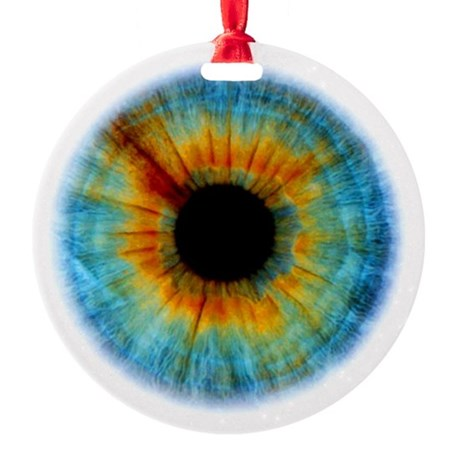 Eyescape Round Ornament