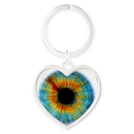 Eyescape Heart Keychain