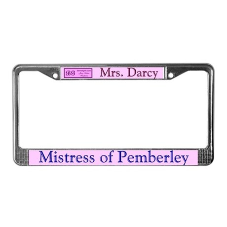 Austen License Plate