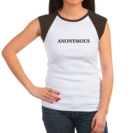 Anonymous Women's Cap Sleeve T-Shirt