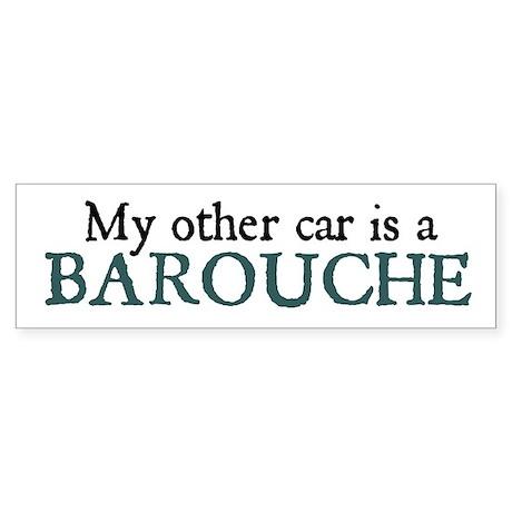 barouche bumper sticker
