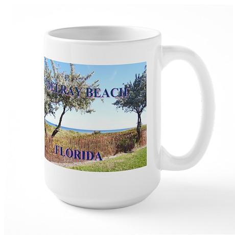 Downtown Delray Beach Large Mug
