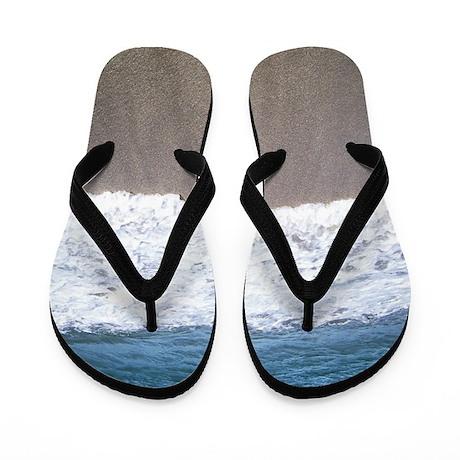 ocean blue waters Flip Flops