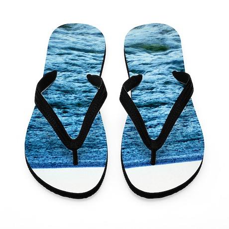 BLUE WAVES Flip Flops