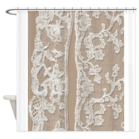 Bathroom Curtains White