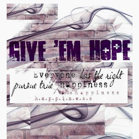 GIVE 'EM HOPE BLANK Greeting Cards (Pk of 10)