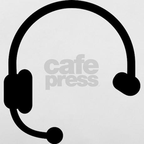 Headset headphones telephone Pillow Case by Shirtsalon