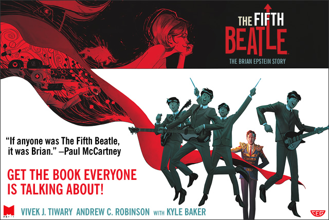The Fifth Beatle is here!