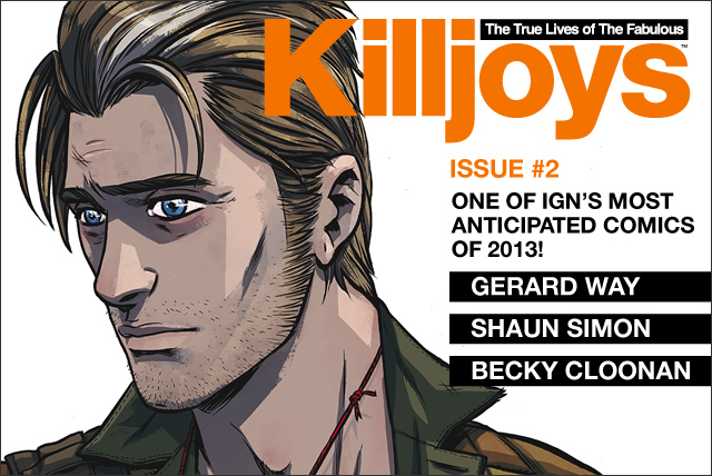 Killjoys issue 2 is here!