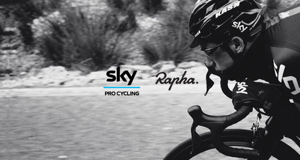 INTRODUCING RAPHA AND TEAM SKY