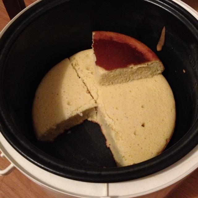 電飯鍋蛋糕的做法_【圖解】電飯鍋蛋糕怎么做如何做好吃_電飯鍋蛋糕家常做法大全_Sherry_紅_豆果美食