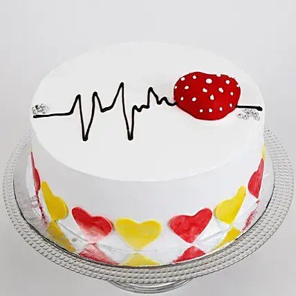 Half kg of cakes is considered perfect for small family celebrations. Buy Send Heart Beat Chocolate Cake Half Kg Online Ferns N Petals