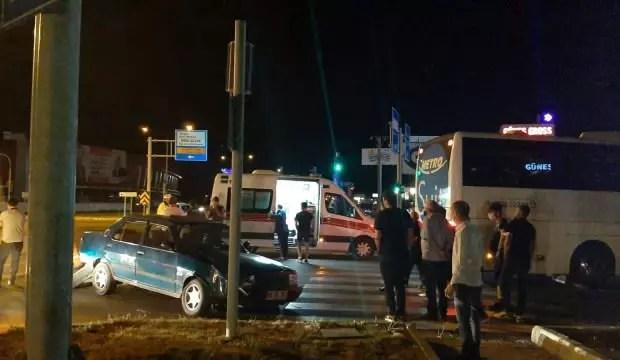 Çorum'da zincirleme trafik kazası: 2 yaralı 1