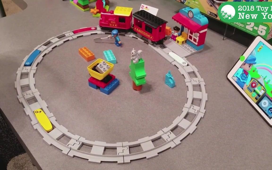樂高德寶電動火車新SET(10874)紐約玩具展搶先看_嗶哩嗶哩 (゜-゜)つロ 干杯~-bilibili