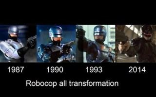 机械战警电影进化史(1987—1990—1993—2014)
