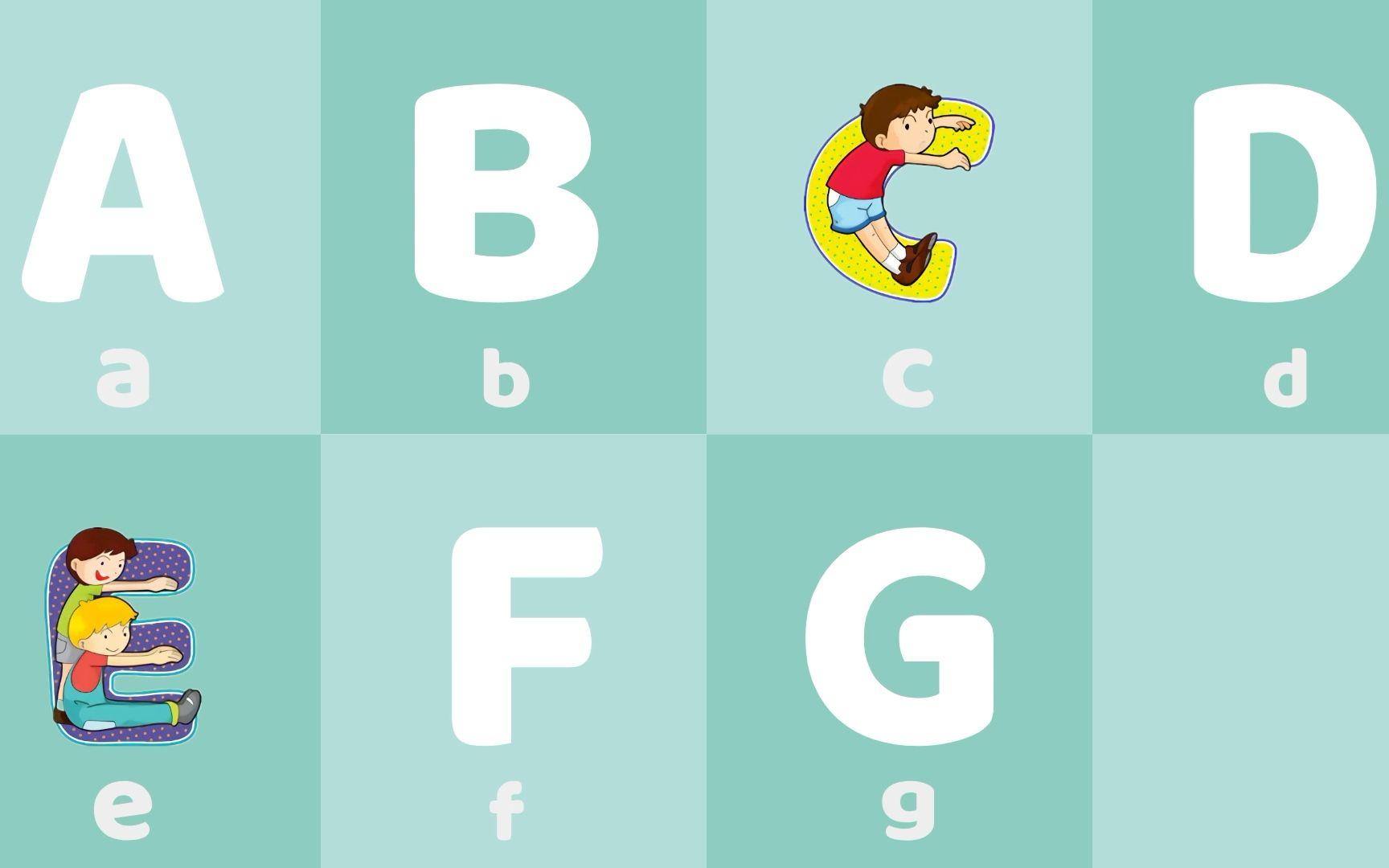 英語ABC字母歌 學習英語字母ABC 學英語 學英文 兒童學英語 英文兒歌 磨耳朵早教 [西瓜寶寶學英語]_嗶哩嗶哩 ...