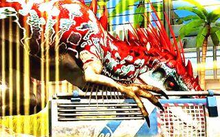【小鸢】侏罗纪世界666满级暴虐霸王龙,我们的狂暴龙出战