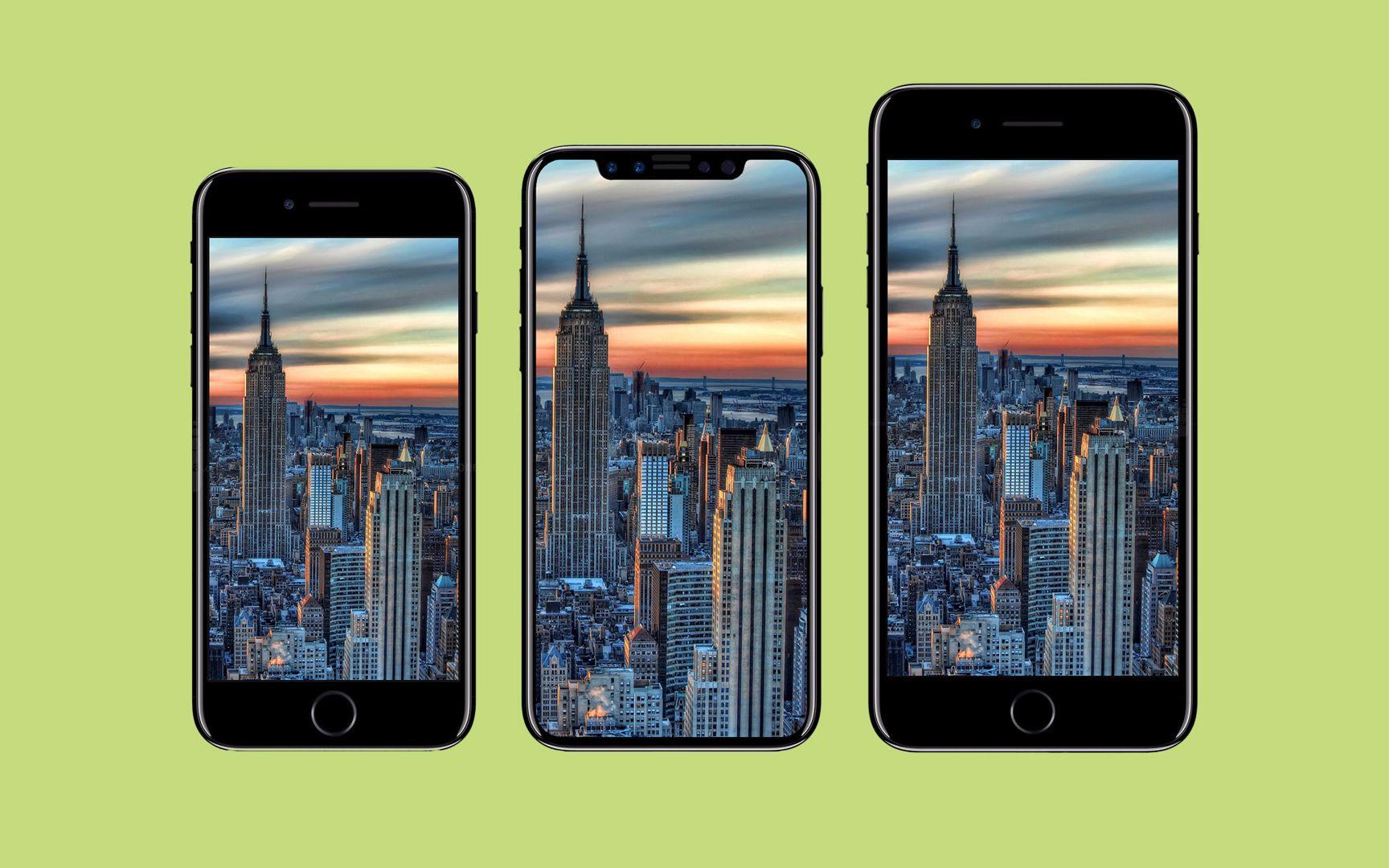 「極光快訊」iPhone 8在尺寸上完虐三星S8/HTC U11被曝屏幕出問題_嗶哩嗶哩 (゜-゜)つロ 干杯~-bilibili