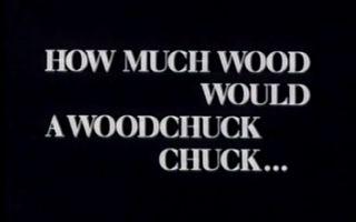【中字】一只土拨鼠能啃掉多少 How much Wood would a Woodchuck chuck... 赫尔佐格纪录片 - 美国牲畜拍卖师大赛