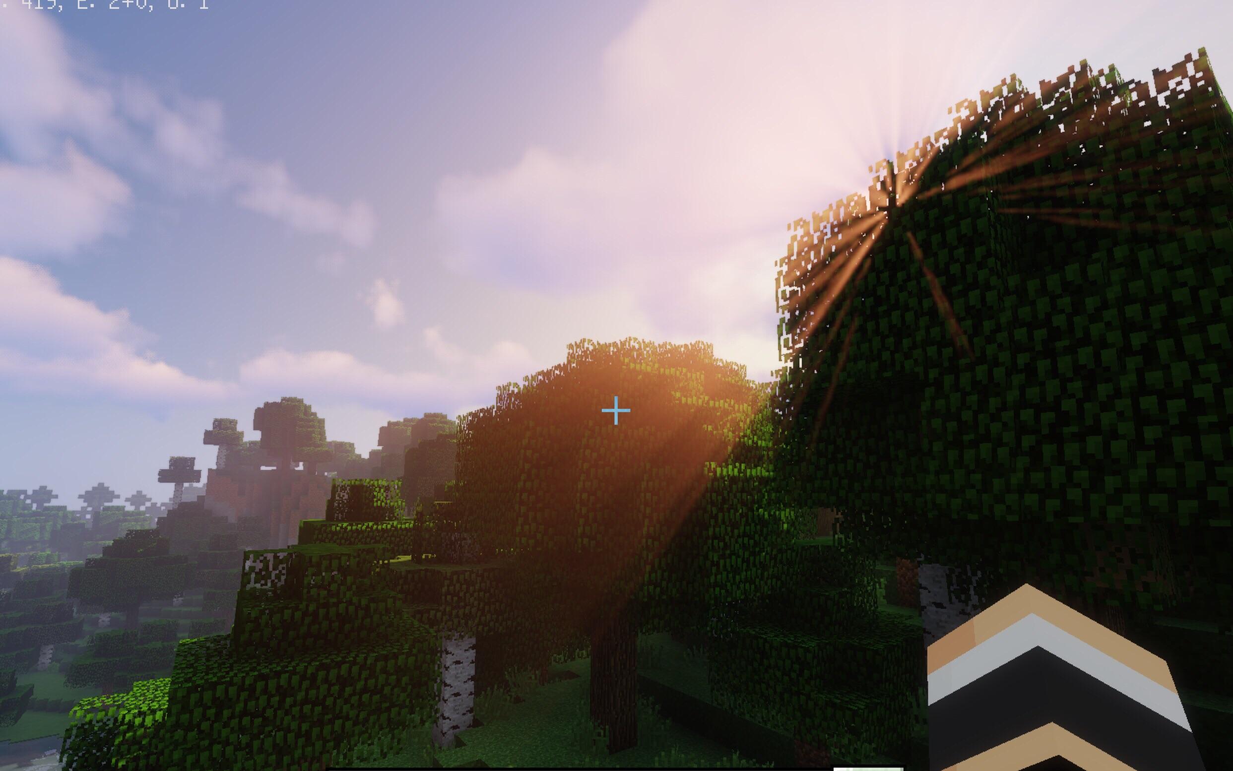 【光影和材質推薦】《Minecraft PE》竟然有這么好看的光影和材質3_嗶哩嗶哩 (゜-゜)つロ 干杯~-bilibili