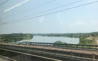 【京广高铁】 G1006次 高速跨越衡阳东站时速301km/h   车体380AL