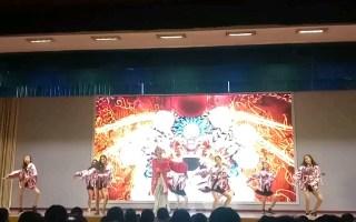 东北大连首批重点23高中cherry boom颜值舞团2019元旦艺术节晚会 翻跳我的新衣 EiEi