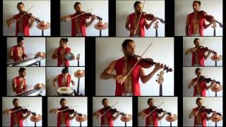 ルフィ猛攻! (海贼王) 好多把小提琴演奏 - Theo Tsigourakos