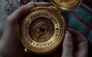 女孩有个黄金罗盘,向它询问任何问题,都会得到回答