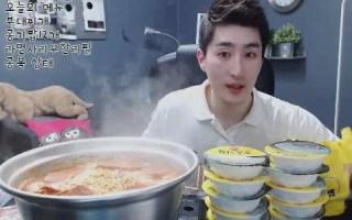 【Afreeca tv】MBRO 米饭12盒 + 拉面火腿汤