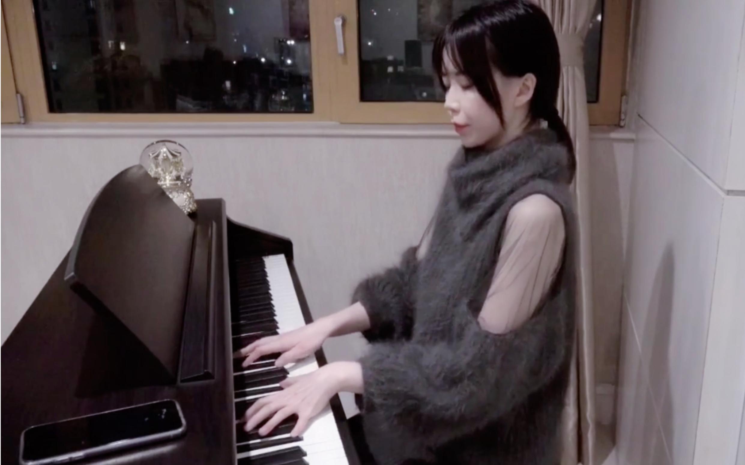 《一幕情深》長笛鋼琴一人演奏版 戀與制作人BGM(結尾包含許墨彩蛋)_嗶哩嗶哩 (゜-゜)つロ 干杯~-bilibili