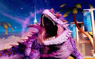 【小鸢】侏罗纪世界546世界头目沙罗曼达,全输出战斗!
