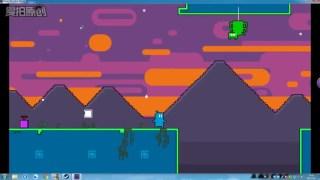 【有趣小游戏】Super Blue Boy Planet 一个手残也可快速通关的游戏