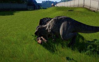 侏罗纪世界 进化 霸王龙对所有类型恐龙的处决动作,高帅!(多P警告)