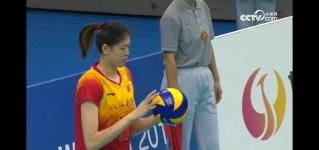 [2019 世界军运会] 女排半决赛 中国VS德国 第二局