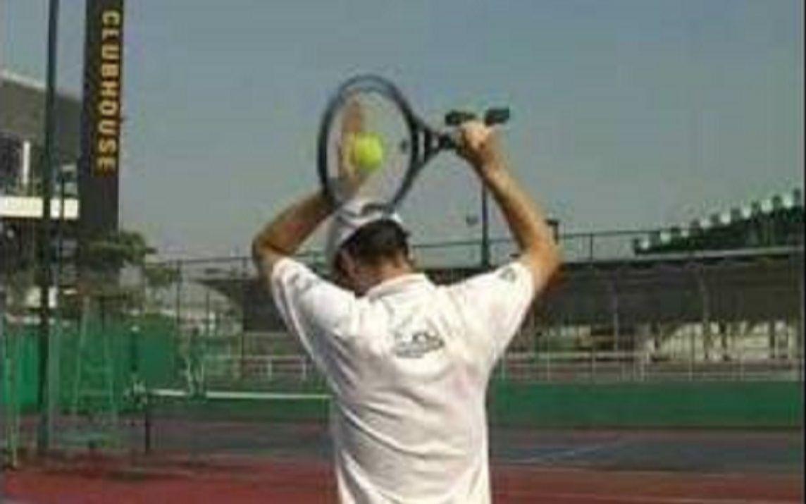 網球上旋發球教學_嗶哩嗶哩 (゜-゜)つロ 干杯~-bilibili