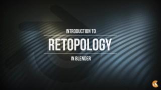 【blender建模】【重拓扑介绍——CGCookie】【无字幕】