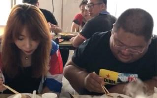 【土味吃播12】二代猪皇与漂亮猪妞共进午餐  竟露出猥琐笑容(结尾)
