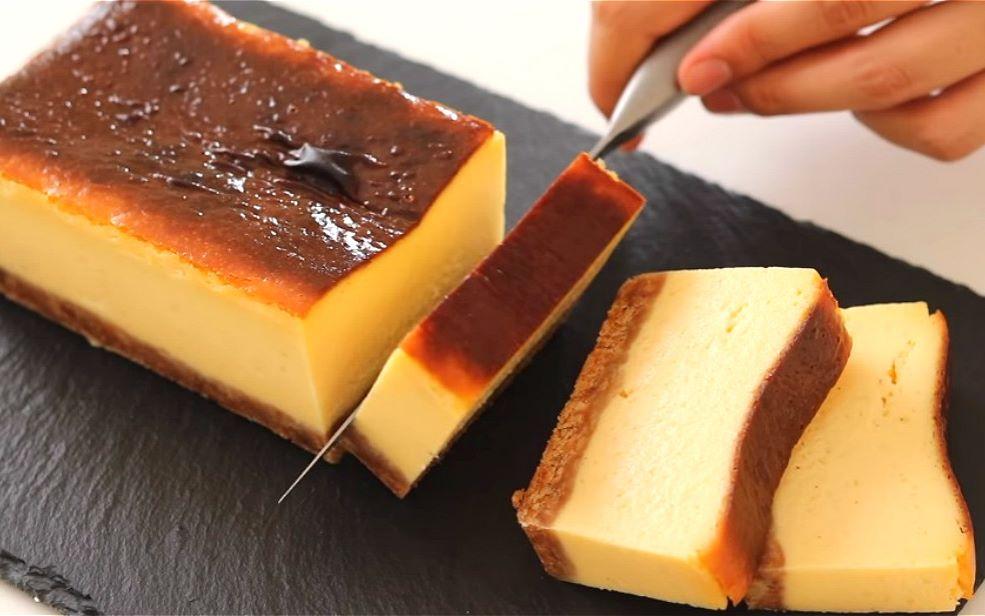 烤重芝士蛋糕..._嗶哩嗶哩 (゜-゜)つロ 干杯~-bilibili