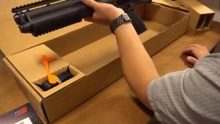 Kel-tec KSG12 霰弹枪 开箱视频 (家防神器)老A TV