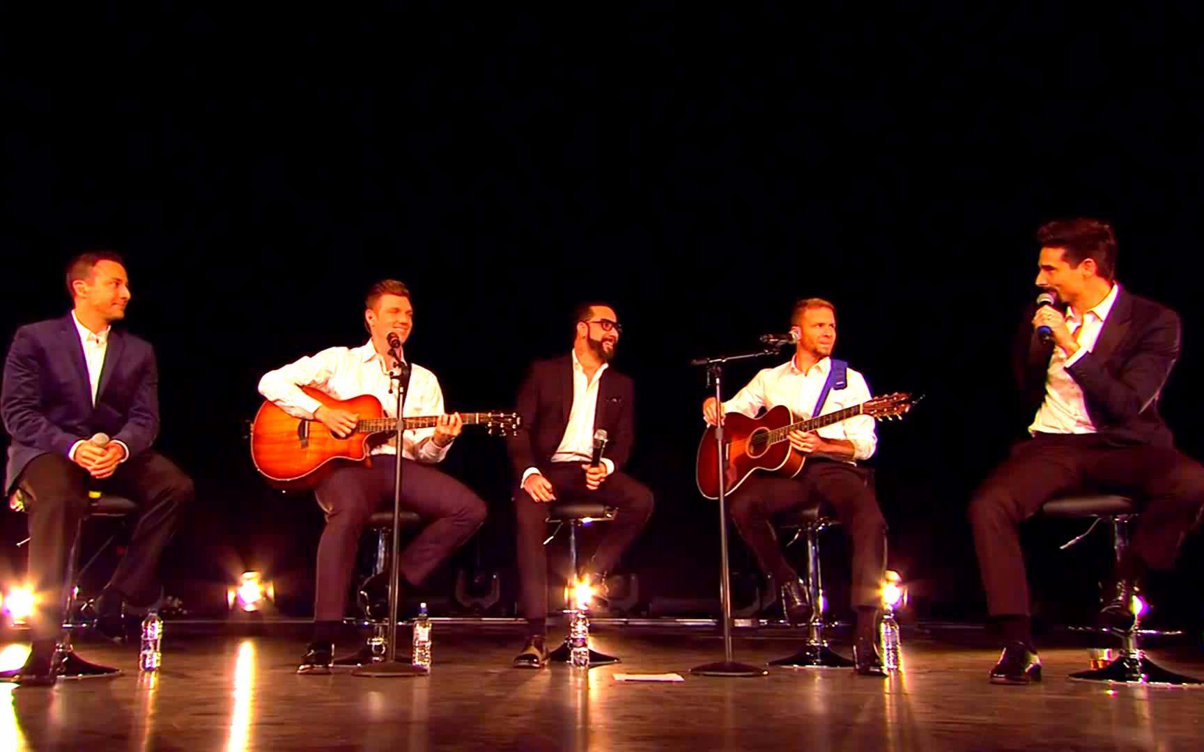 后街男孩2015年影院直播不插電演唱會 Backstreet Boys Dominion Theatre London 2015_嗶哩嗶哩 (゜-゜)つロ 干杯~-bilibili