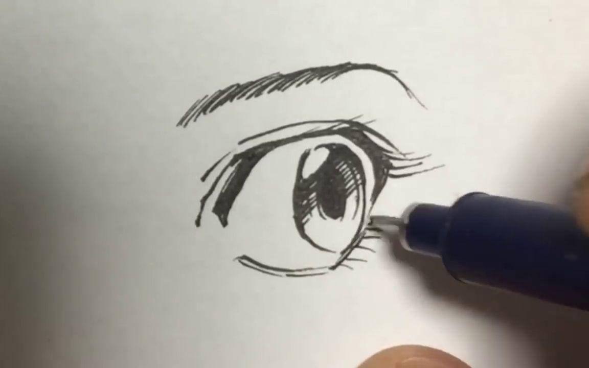 【漫畫繪制】畫眼睛系列 吉村拓也-愛嗶哩(B站視頻,音頻mp3解析下載站)