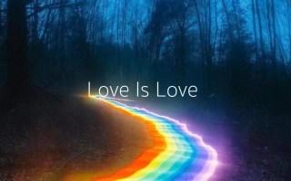 浙江传媒学院   19级媒介作业《Love Is Love》