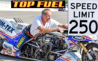 【中文字幕】Top Fuel硝基甲烷直线加速摩托车