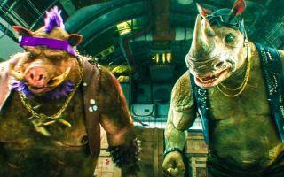 两男子因呆傻,被注射外星药剂,不料发生变异,成为疣猪和犀牛
