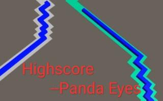 【自制跳舞的线】超难双线模式:Highscore 仅路线DEMO