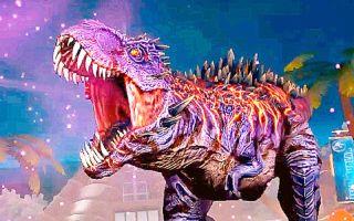 【小鸢】侏罗纪世界611最强两栖类恐龙全上线变,异霸王龙