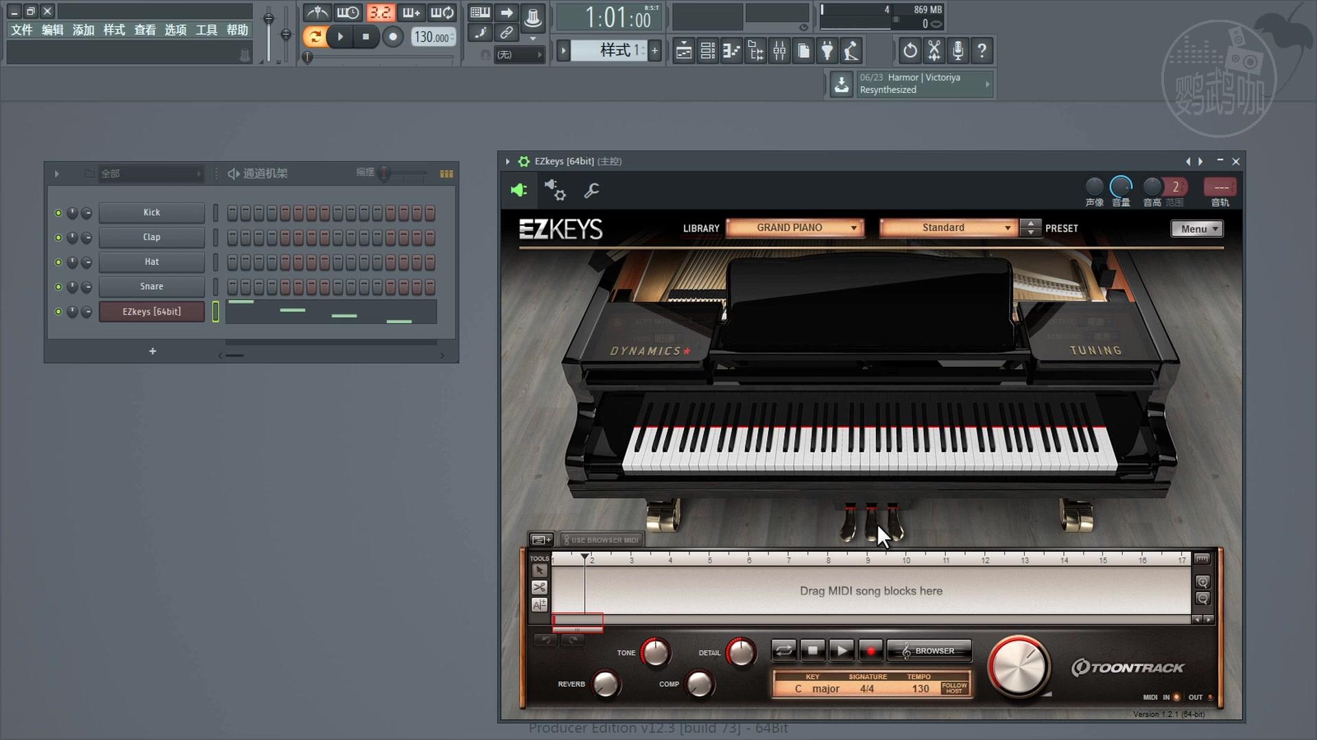 FL Studio12電音編輯軟件水果教程61 延音踏板在哪里_嗶哩嗶哩 (゜-゜)つロ 干杯~-bilibili